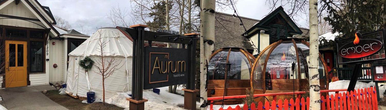Aurum & Ember Dining Bubbles